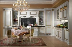 классические кухни интерьер